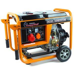 knappwulf notstromaggregat diesel test platz 1
